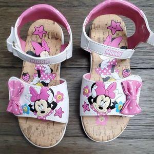Disney light up sandals. Minnie Mouse size 11
